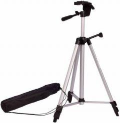 YadavEnterprises Adjustable Aluminum portable Lightweight mobile Camera Stand ( 5 FT ) Tripod Kit  (Black)   (Supports Up to 1500 g)