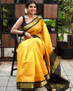 Silk Saree with Rich Pallu