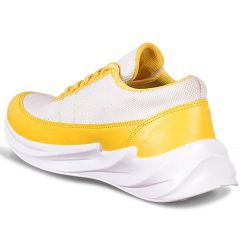 Maarsfootwear Raysfield Comfortable Training & Running Casual Shoes For Men's (Yellow)