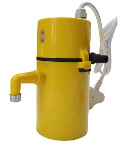 Swagg Instant Hot Water Geyser or Heater Fitted with ISI Heating Element with Complete Accessories Set (Pack of 1, Yellow)