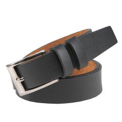 Stylish Casual Genuine Leather Comfortable Belt Prime for Men's (Black)
