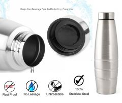Krivish Stainless Steel Leakproof Water Bottle For All